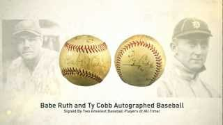 Sports Memorabilia Auction | Vintage Baseball Memorabilia | Imperial Sports Auctions