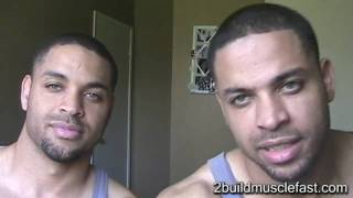 Bodybuilding Tip How Much Protein to Build Muscle Fast @hodgetwins