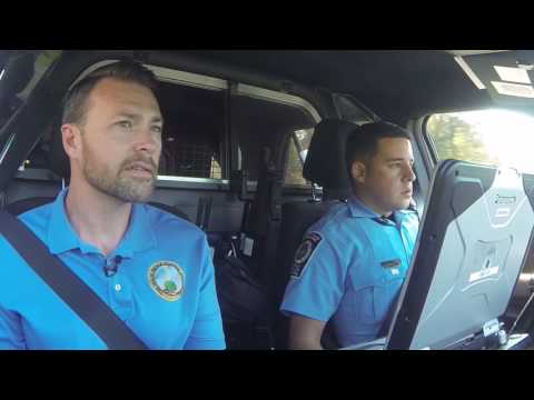 Discovering Your Own Backyard: Police Ride Along Program