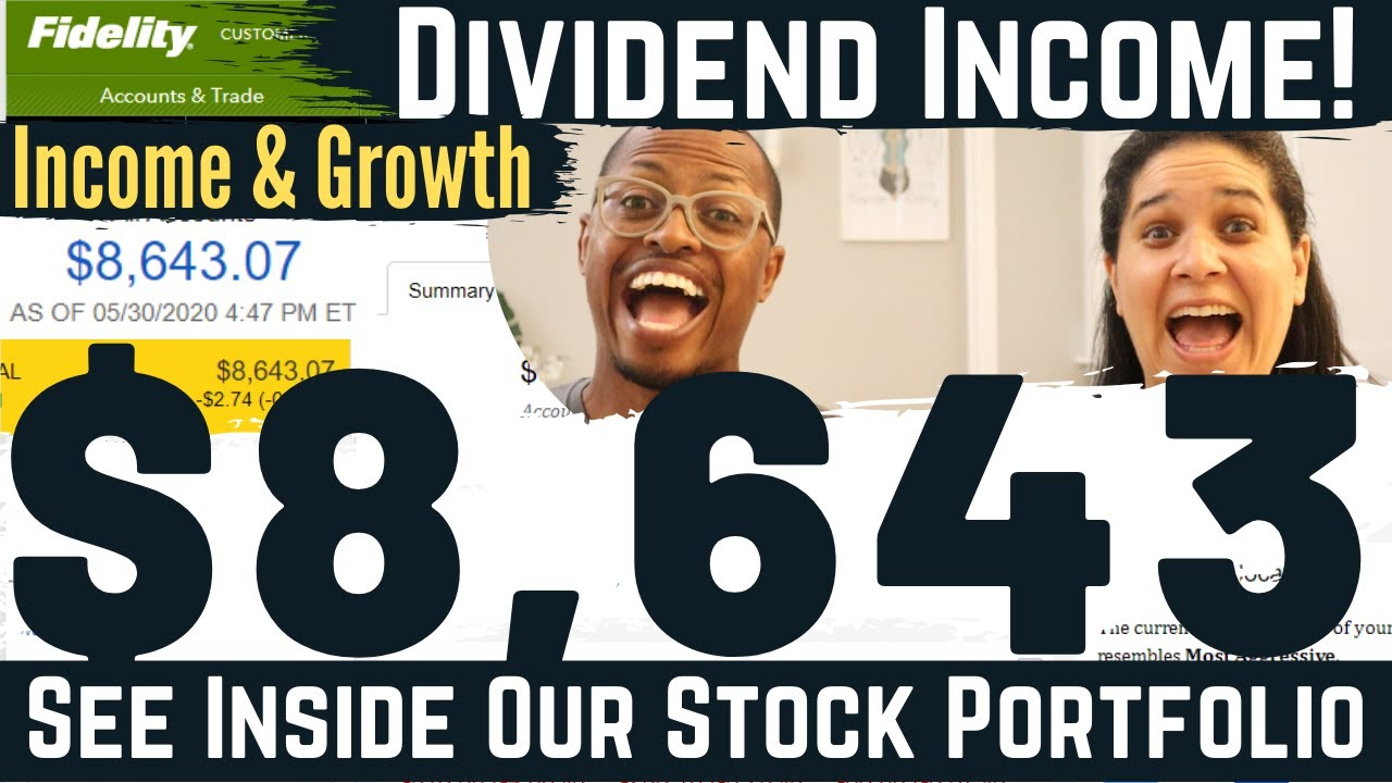 Retiring Early With Dividend Income (Our Income & Growth)   See Our Portfolio (Ep. 3)