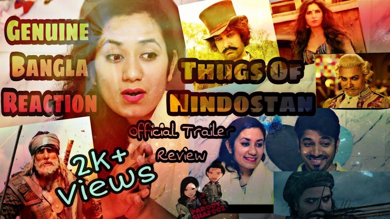 Download Thugs Of Hindostan REACTION | Official Trailer| Amitabh Bacchan | Aamir Khan | Katrina Kaif |Bangla.