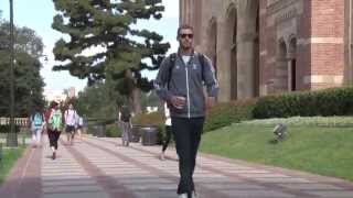 Middle blocker Mitch Stahl led the UCLA volleyball team in aces and...