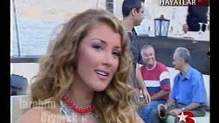 Petek Dinçöz Aşkın Tam Sırası albüm lansması (Star Renkli Hayatlar ve Kanal D Ana Haber) 2002