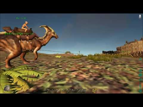 【ARK:Survival Evolved】♯4恐竜がいるマインクラフト【日常系ジュラシックパニック】