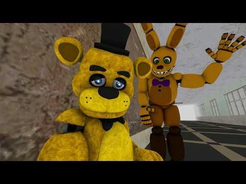 Golden freddy and Spring bonnie (fnaf sfm sad song)