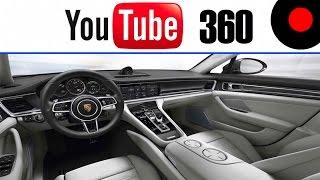 تجربة قيادة بورش باناميرا ٢٠١٧ بتقنية 360 درجة - Enjoy Porsche Panamera 2017 in 360 Video