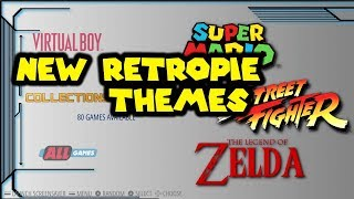 New RetroPie EmulationStation Themes - Box Alloy & SCV720 And How To Install Them
