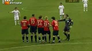 Türkiye 2 Norveç 2 (Hamit Altıntop İlk Gol)