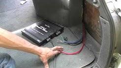 Installing a Pyle Audio Chopper Series PLA 2200 Amp