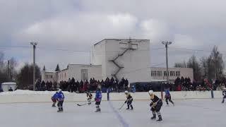 Хоккей. Хвастовичи - Мосальск. 3-1
