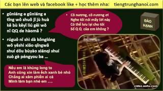 Dạy Học tiếng Trung giao tiếp -  ĐÀO HẠNH - Bài giảng mẫu cực hay : bài hát Guitar Tân Cương