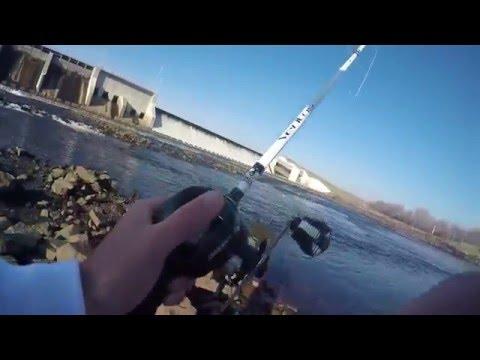 Fishing At Union Lake Dam NJ