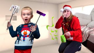 Малыш и Грандиозная уборка для Деда Мороза