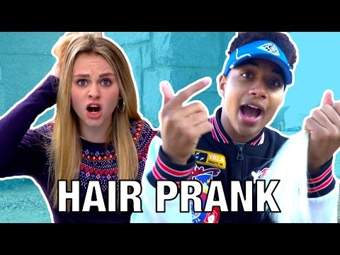 IVEY'S SURPRISE HAIRCUT PRANK! (ft Justin)