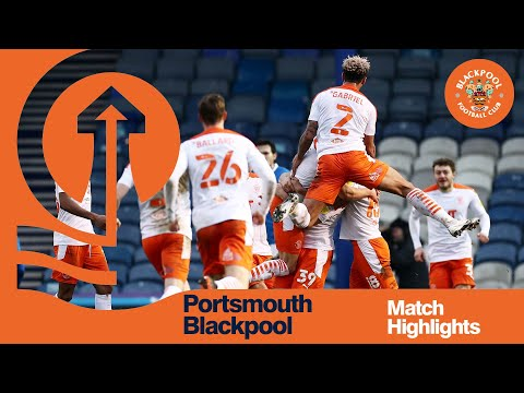 Portsmouth Blackpool Goals And Highlights