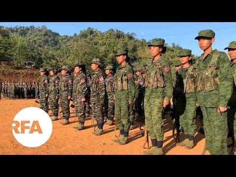 A Rare Look at Arakan Army Headquarters   Radio Free Asia (RFA)