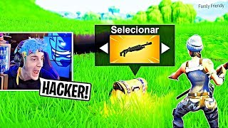 7 YOUTUBERS de FORTNITE THAT WERE FOUND WITH HACKERS LIVE !!