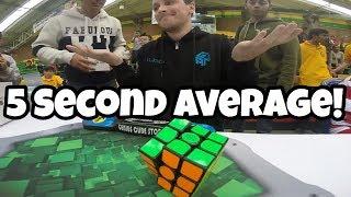 Rubik's Cube World Record Average 5.97 Feliks Zemdegs Breakdown!