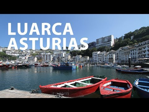 video about Luarca, marine essence