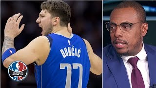 Luka Doncic is more exciting than the Greek Freak - Paul Pierce | After the Buzzer
