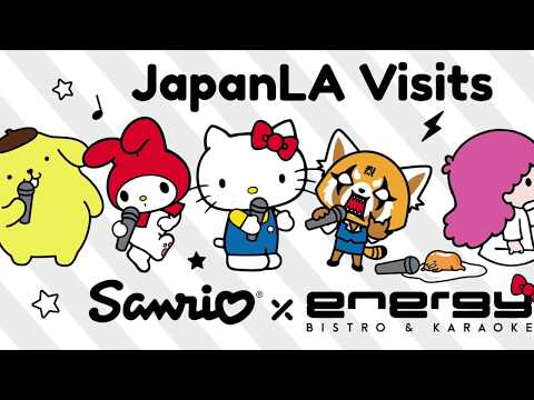 JapanLA Visits Sanrio x Energy Karaoke!