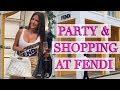 Exclusive Shopping Party at Fendi Miami plus Hermes Vlog!