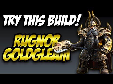 Amazing Utility, Unique Build! // Rugnor Gold Gleam Raid Shadow Legends