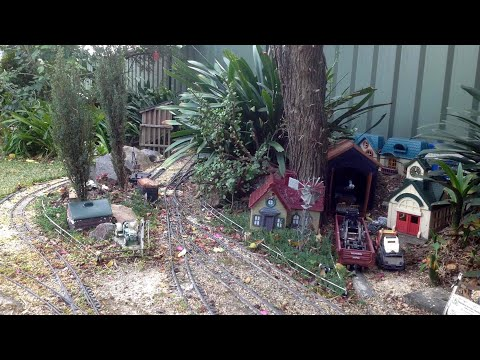 Modelling Railroad Train Track Plans -Awesome Ideas For Brokenback Garden Railway 20 June 2017