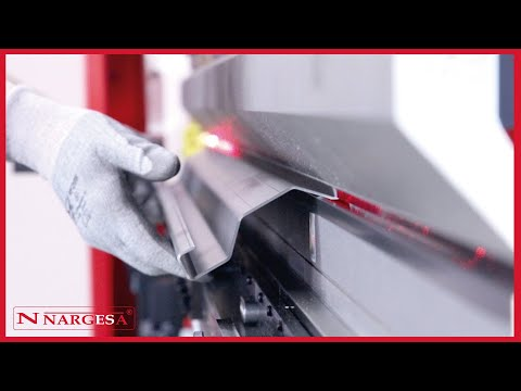 MP3003 CNC PRESS BRAKE NARGESA - TUTORIAL: LEARN HOW TO FOLD METAL SHEET EASILY