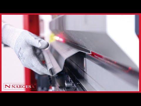 MP3003 CNC PRESS BRAKE NARGESA - TUTORIAL: LEARN HOW TO FOLD METAL SHEET EASILY