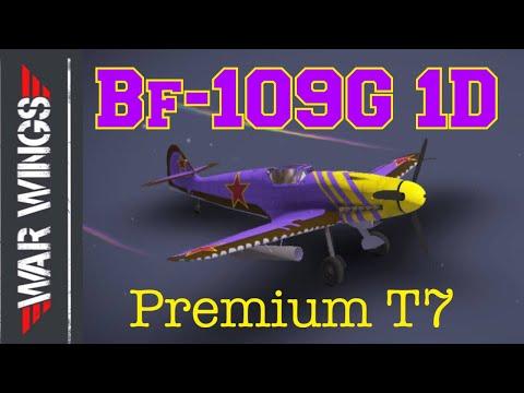 Bf109-G 1D Premium War Wings Gameplay