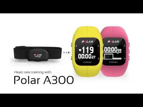 Heart rate training with the Polar A300: Heart rate training with the Polar A300 http://www.polar.com/A300 Like you, it's made to move.  Heart rate training with the Polar A300 fitness watch and Polar H7  heart rate sensor helps you train more efficiently. See how easy it is to pair the Polar A300 fitness watch with a heart rate monitor and then we will go through basics of heart rate training. Download Polar's coaching app Flow to store and analyse your training data.  See more about the Polar A300 fitness watch: http://www.polar.com/A300 See more about the Polar H7 heart rate sensor: http://www.polar.com/us-en/products/accessories/H7_heart_rate_sensor Download Polar's Flow coaching app: http://flow.polar.com
