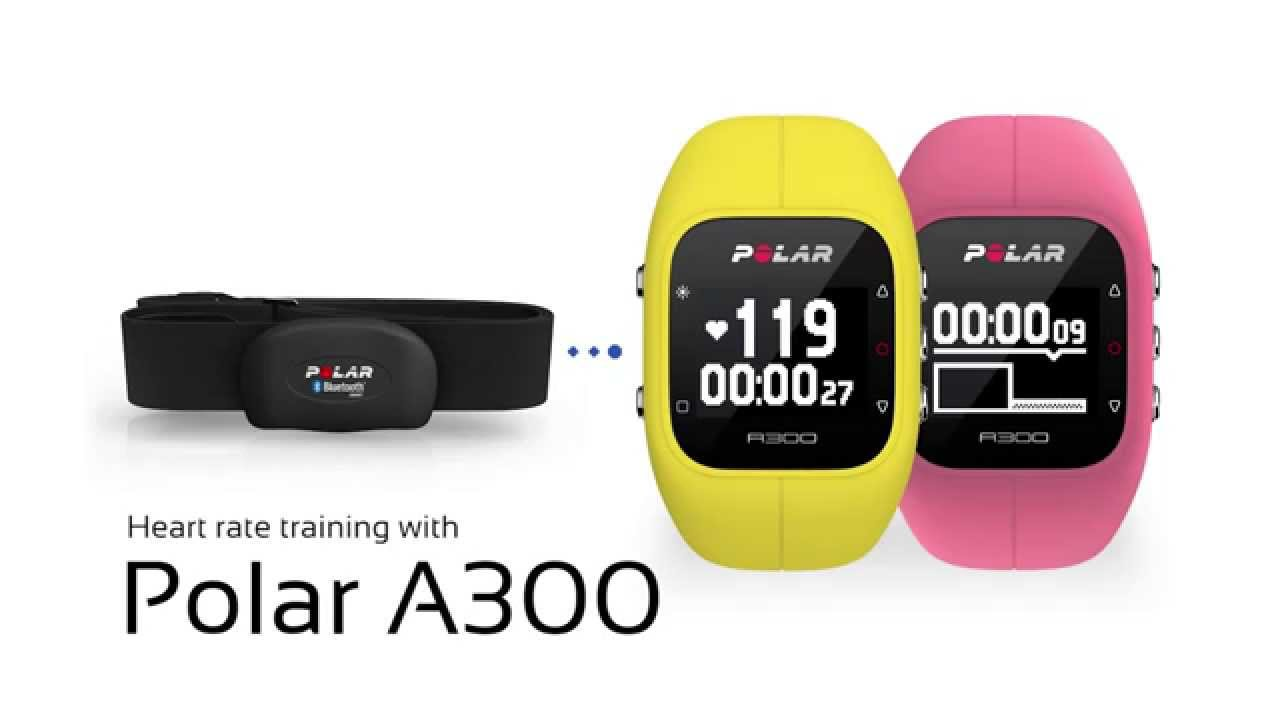 Heart rate training with the polar a300 youtube heart rate training with the polar a300 geenschuldenfo Choice Image