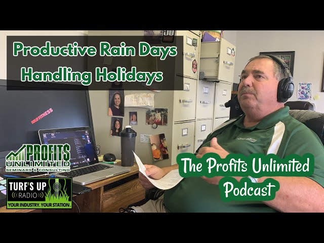 Rain days and Holidays: How to Handle BOTH!