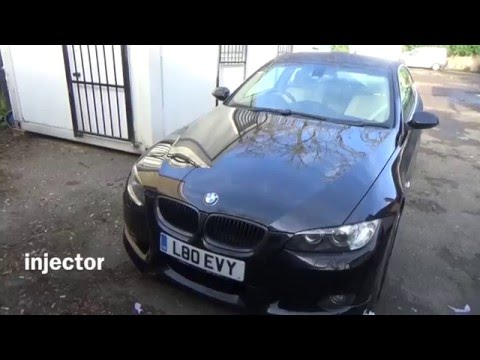 Problem with My BMW 335i fuel injector or misfire?? - YouTube