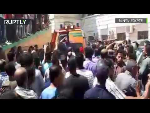 Egypte : les premières images après l'attaque dans le gouvernorat de Minya