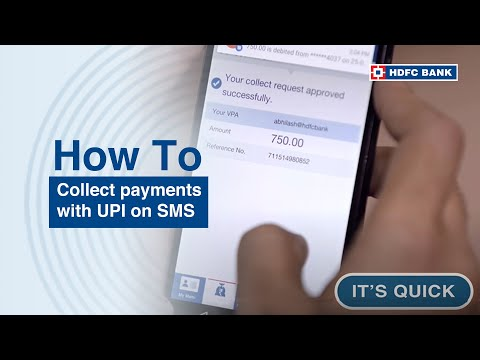SmartHub - Collect payments with UPI on SMS based payment solution