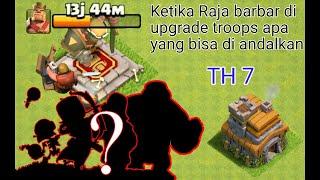 Cover images Pasukan Th7 || TANPA RAJA BARBAR || farming and push trophy