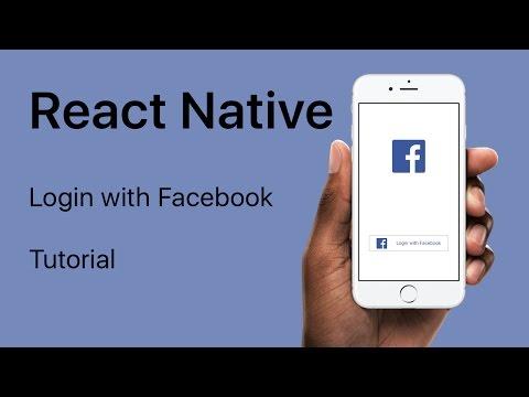 React Native - Login with Facebook