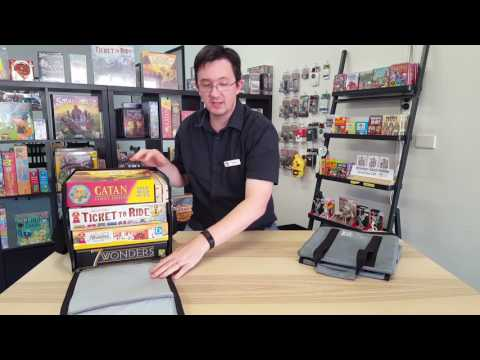 Board Game Bag.  A safe, compact, affordable way to carry board games, available in Australia.