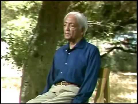 Jiddu Krishnamurti - Learning, Fear, Energy (Pt 2/4, Ojai 1984)