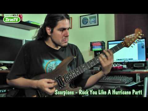 Scorpions-Rock you like a Hurricane Part 1 (Riff) Guitar Lesson