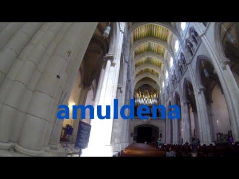 INSIDE ALMUDENA CATHEDRAL MADRID HD