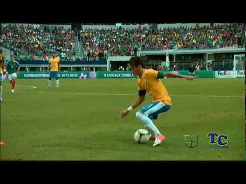 Golazo de Giovani Dos Santos Mexico vs Brasil (HD/3D)