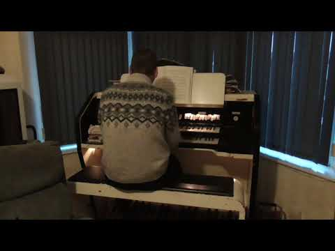 Getting to know you - Chris Lawton at his home Compton organ