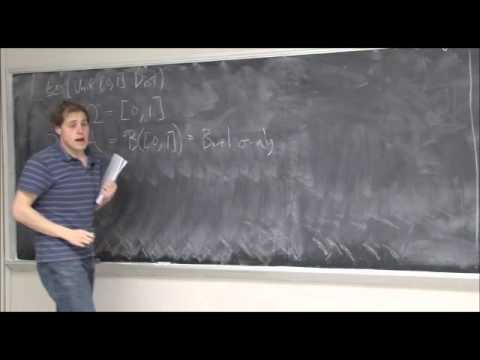 Mini Lecture #1 - Why use measure theory for probability? (Part 3)