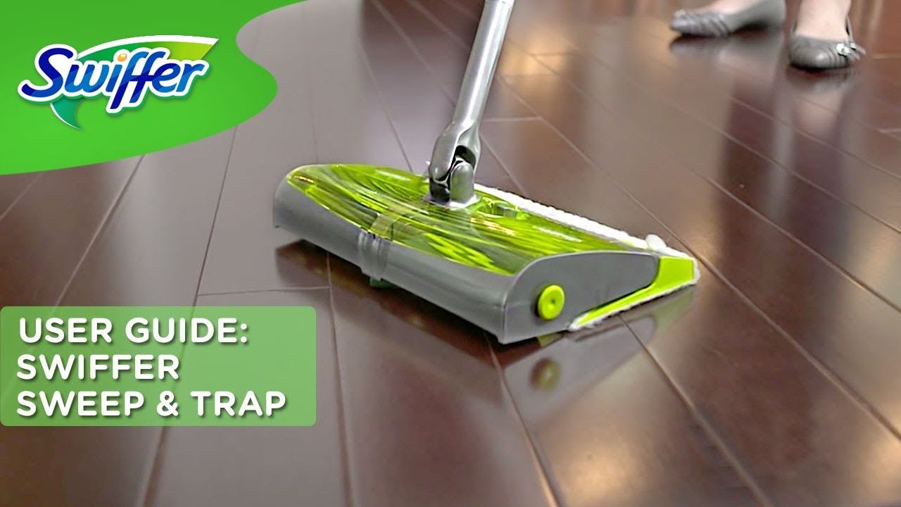 How To Clean Floors With Swiffer Sweep Amp Trap Swiffer