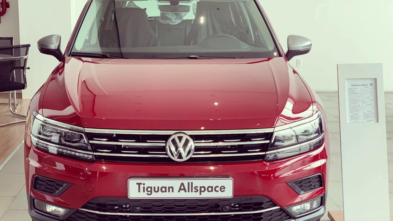 Volkswagen Tiguan Allspace 2019 Đỏ Ruby tại Volkswagen Long Biên ở Hà Nội