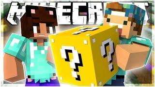 IT'S A BIRD.. IT'S A PLANE. IT'S..| LUCKYBLOCK RACE! w/ YAMMYXOX | LuckyBlock Mod | Minecraft