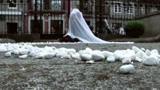 """""""Diálogo Vivo"""". Enrique Tenreiro. (Performance contra o asasinato de mulleres)"""